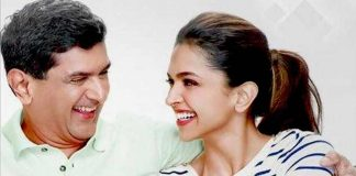 Deepika with Dad Prakash Padukone
